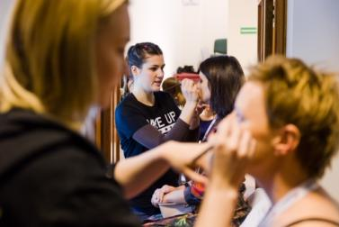 Praktykantki MAKE UP STAR i TEDx Warsaw Women